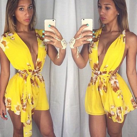 US STOCK Women Clubwear Playsuit Bodycon Party Jumpsuit Romper Trousers New