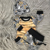 Infant Baby Girls Hello World Bodysuit Romper+ Leg Warmers Headband Outfits USA