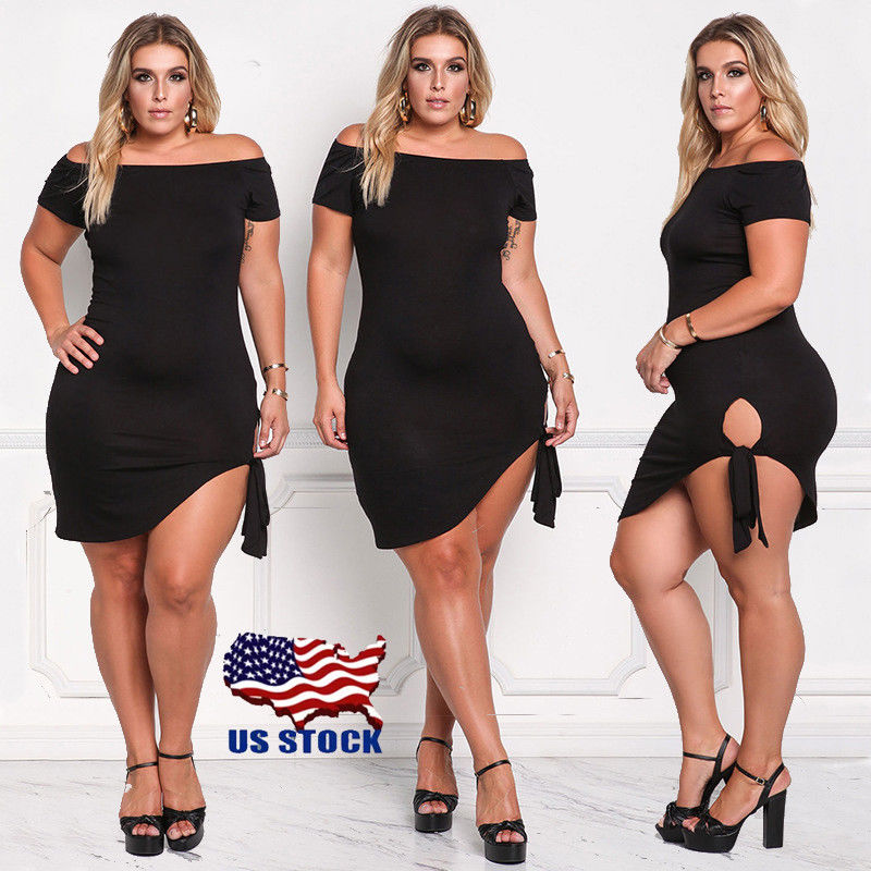 Sexy plus size club outfits