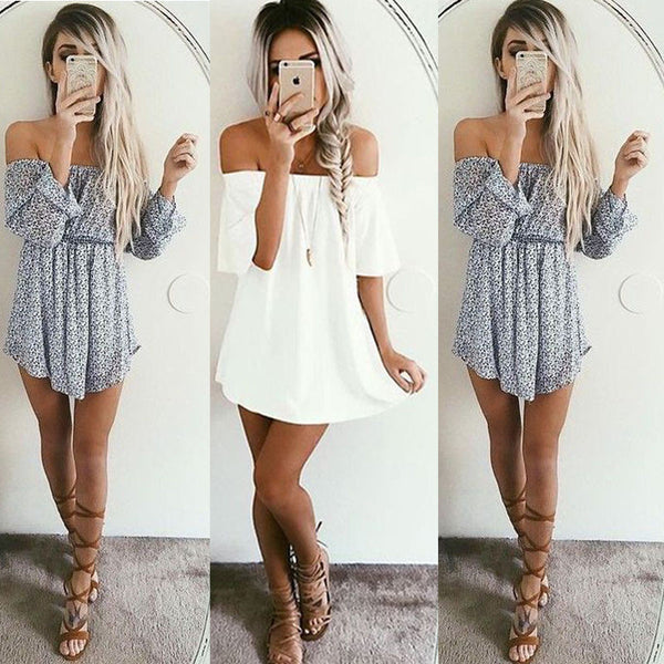 Summer Women Sleeveless Dress Casual Party Evening Cocktail Short Mini Dress US