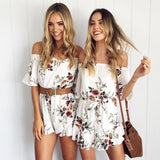 Women Ladies Clubwear V Neck Playsuit Bodycon Party Jumpsuit Romper Trousers wxf