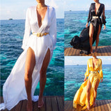 New Women's Summer Dress Boho Maxi Long Evening Party Dress Beach Dress Sundress