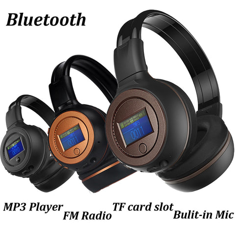 Black 3.0 Stereo Bluetooth Wireless Headset/Headphones With Call Mic/Microphone