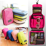 Travel Cosmetic Makeup Bag Toiletry Case Wash Organizer Storage Hanging Pouch US