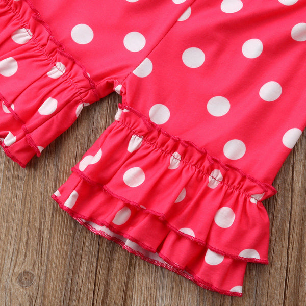 Toddler Kids Baby Girls T-shirt Tops+Pants Summer Casual Outfit Clothes 2PCS Set