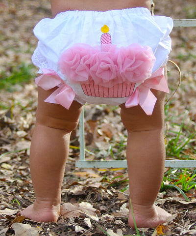 US Infant Baby Girls Ruffle Cupcake Diaper Cover Bloomer Shorts Outfits Clothing