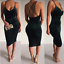USA Women Summer Boho Casual Sleeveless Party Evening Cocktail Short Mini Dress