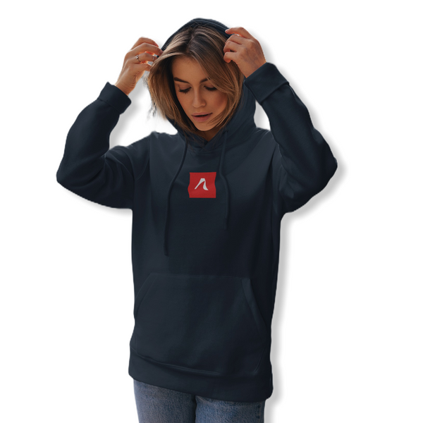 Navy icon Hoodie