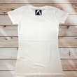 Women's White Slimline T-shirt