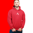 Men's Red Goalshark Hoodie