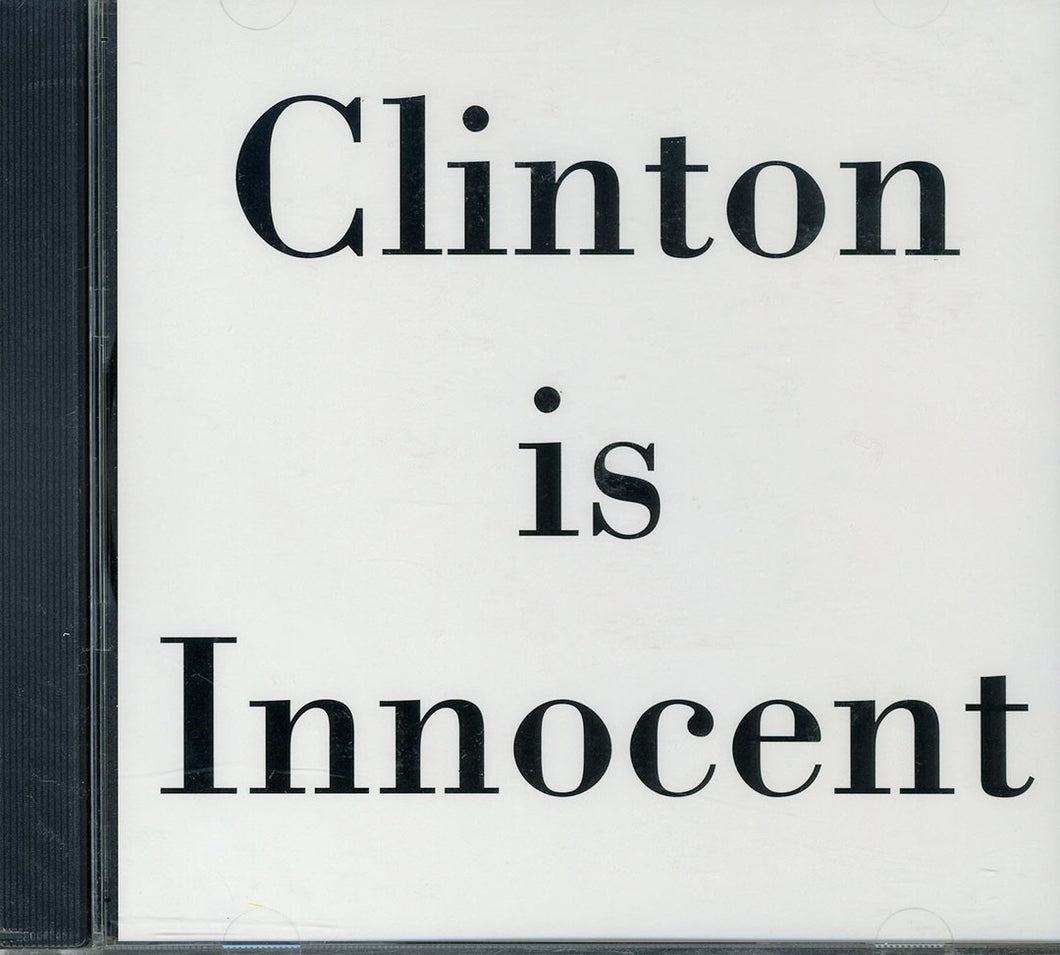 Gabriel Orozco: Clinton is Innocent/Piano Works