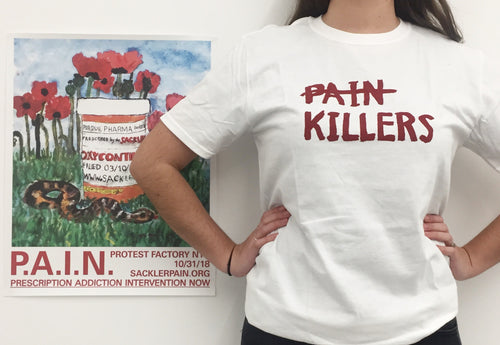 Nan Goldin: P.A.I.N. Killers T-shirt