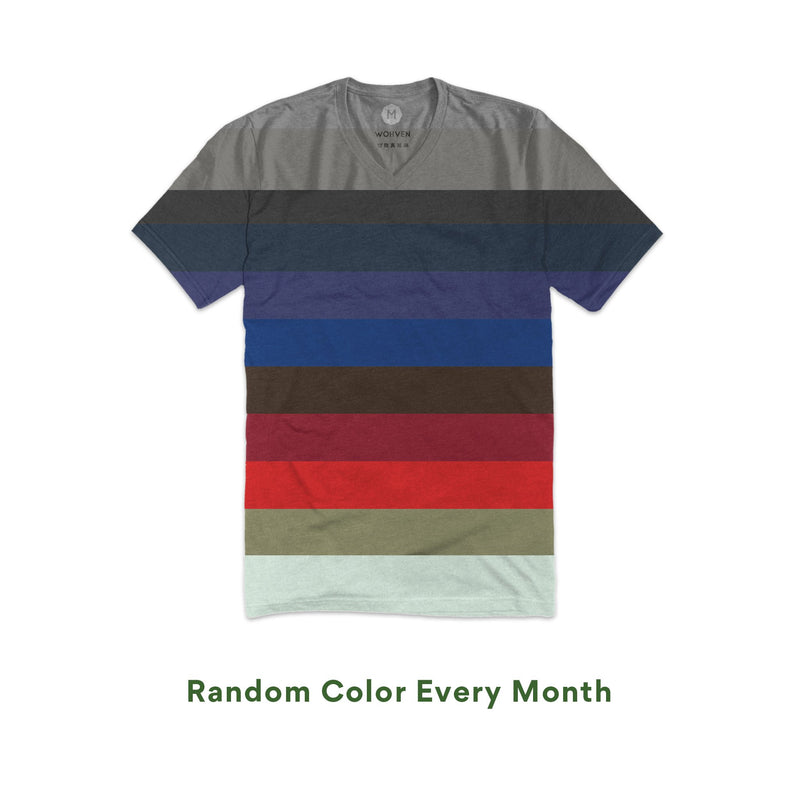 wohven blank v-neck t-shirt colors