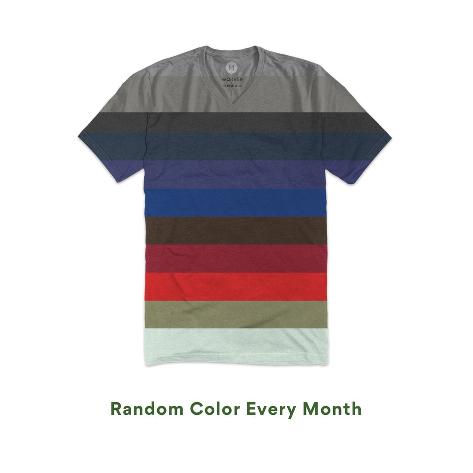 ffd7e4a98a3f Blank V-Neck T-Shirt Monthly Subscription