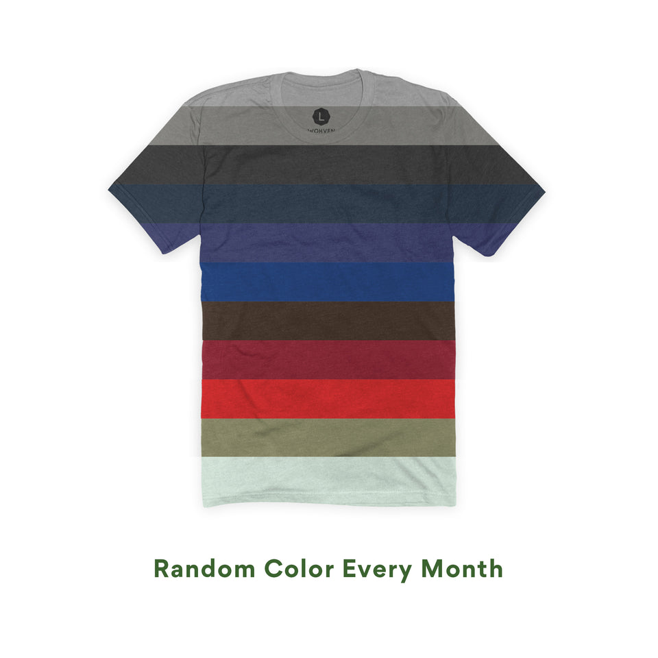 wohven blank t-shirt colors