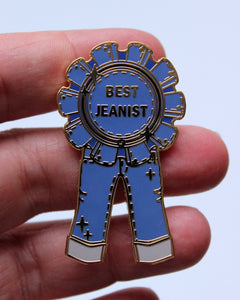 Best Jeanist Award Hard Enamel Pin