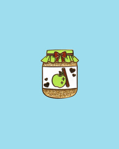 Apple Butter - Precious Preserves Series 2 Hard Enamel Glitter Pin