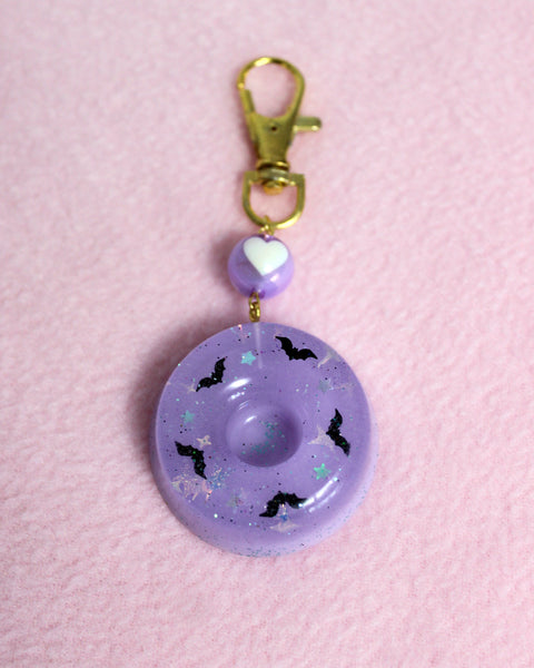 Lavender Jelly Cake Charm