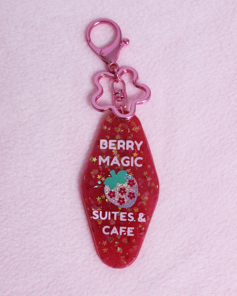 Berry Magic Hotel Style Keychain