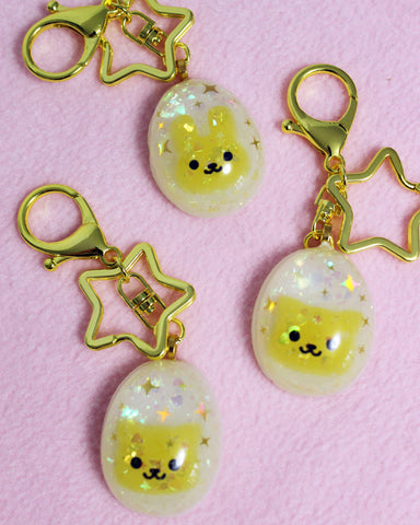 Egg Friend - Animal Shaped Yolk Resin Egg Charm - Larger Size Yolk