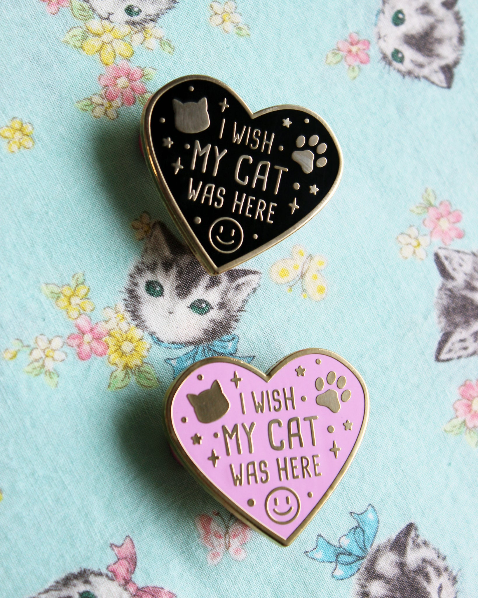 I Wish My Cat Was Here - Hard Enamel Pin