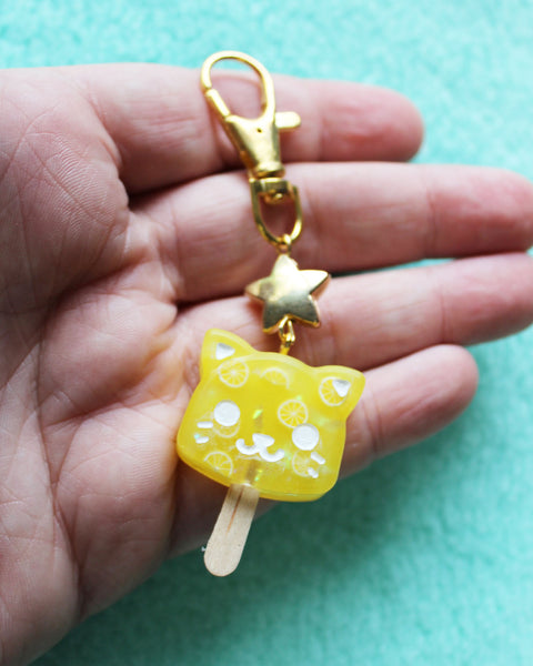 Cat Popsicle Charms - Catsicle