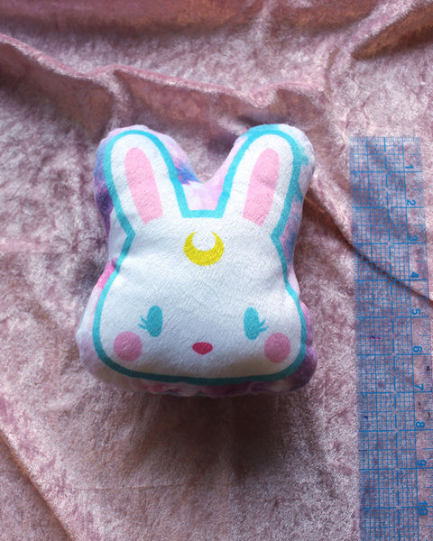 Usagi with Blue Outline Pillow Plush