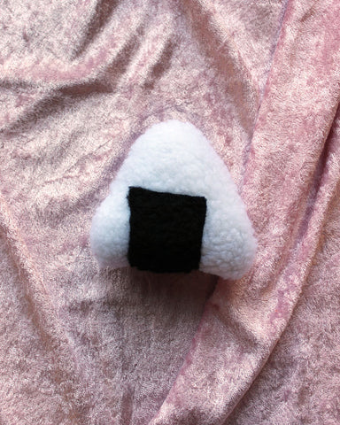 Fluffy Onigiri Cat Nip Toy
