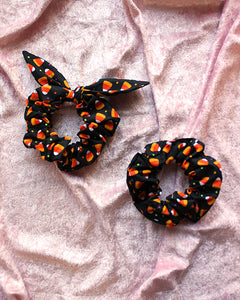 Candy Corn Scrunchies
