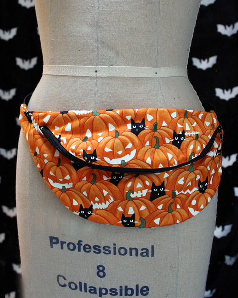 "Spooky Ghosts Fanny Pack or Sling Bag - READY TO SHIP - 36""-48"""