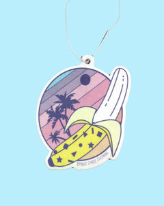 Sunset Banana Scented Air Freshener