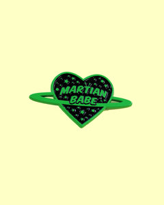 Martian Babe - Green Soft Enamel Pin
