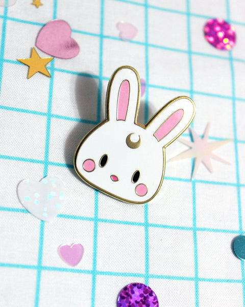 Kawaii Usagi Bunny Rabbit Hard Enamel Pin