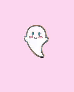 Super Cutie Ghost Hard Enamel Pin - Version 2