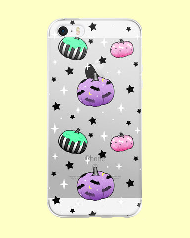 Pastel Goth Pumpkins iPhone Case - 5/5s/Se, 6/6s, 6/6s Plus, 7, 7 Plus