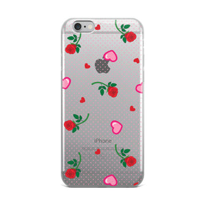 Hearts and Roses Phone Case