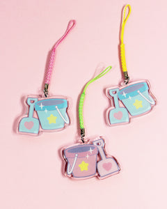 Magical Pail & Shovel Double-Sided Acrylic Charm