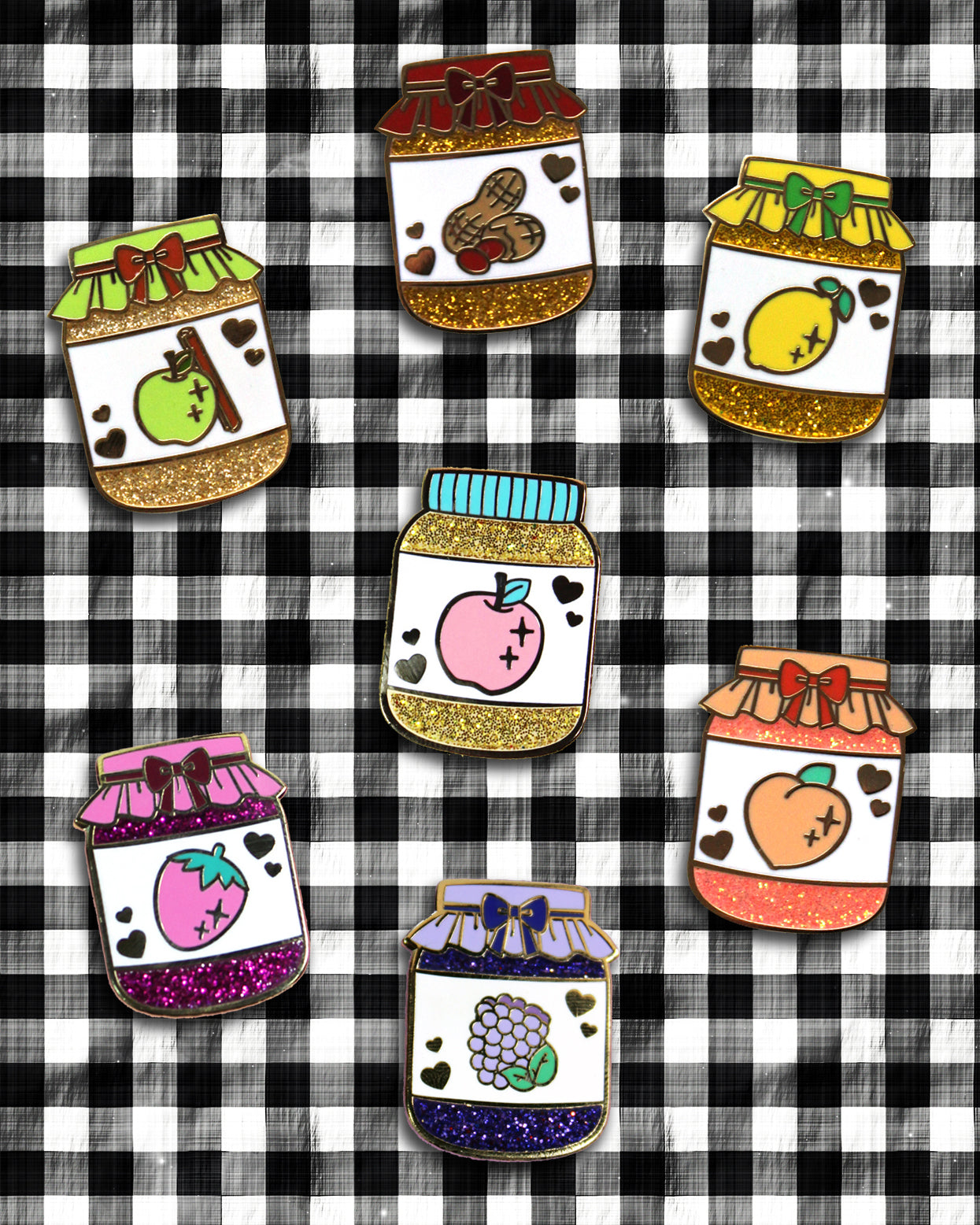 Precious Preserves Pin Sets - Limited Quantities Available!