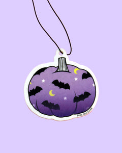 Batty Pumpkin Lavender Scented Air Freshener