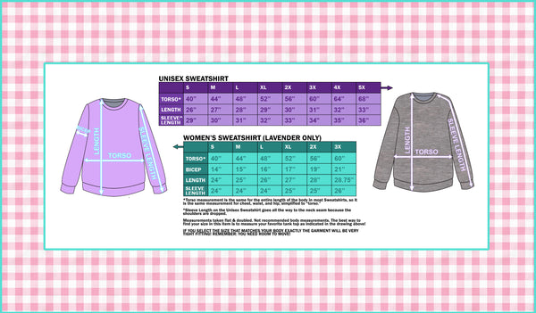 Handmade Kawaii Moon Cheer Pullover Sweatshirt - Buffalo Plaid Yoke with Ruffles, Holographic Moon, and Contrast Sleeves