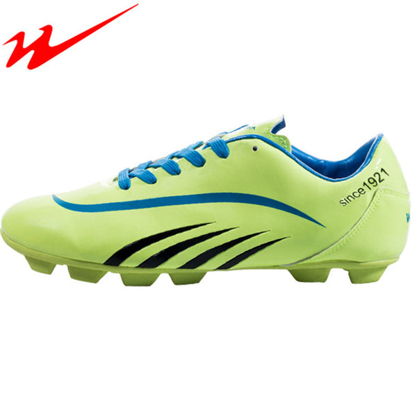 DOUBLE STAR Brand Soccer Shoes Boots Cleats Men Football Boots Training Soccer Shoes Chuteira Futebol Mens Football Shoes