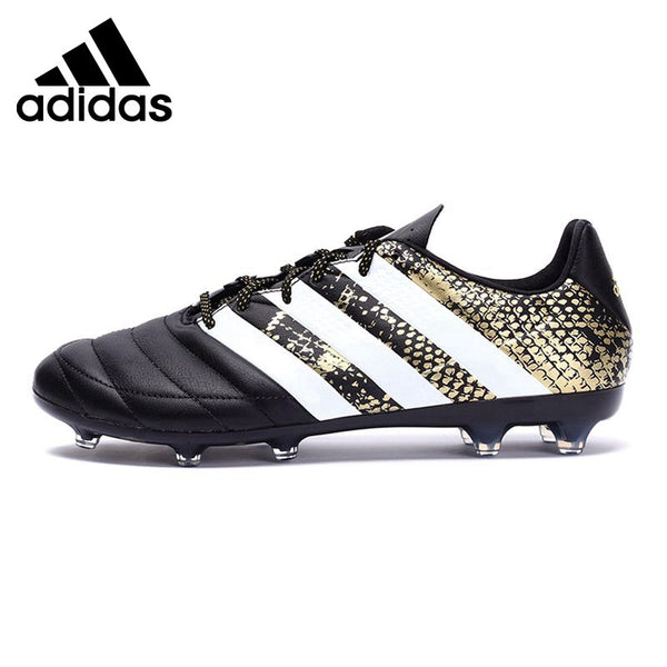 Gold/Black Adidas Men's Soccer Football Shoes Sneakers