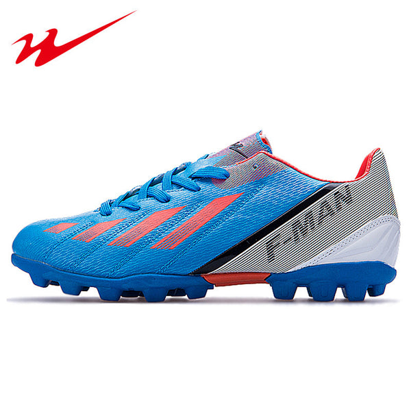 DOUBLE STAR Soccer Cleats Professional Outdoor Men's Football Training Boots Anti-Slippery Safety Men's Soccer Boots  Big Size