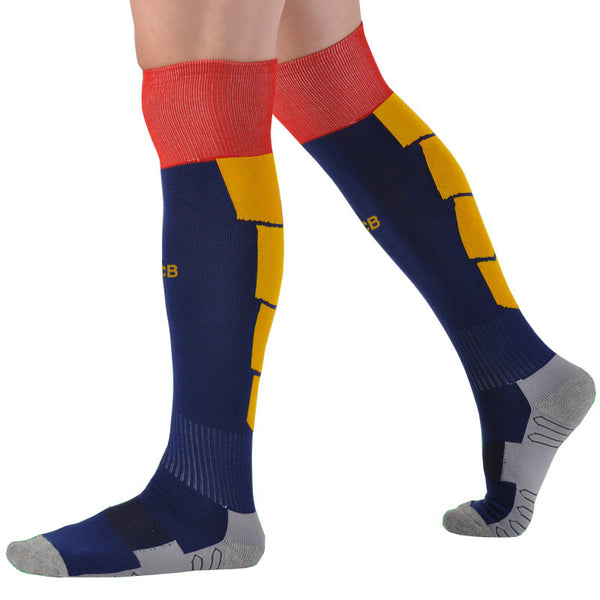 Soccer Socks Professional Club Football Scoks Thick Knee High Training Long Stocking Skiing Warm Sports Socks Kids and Adult