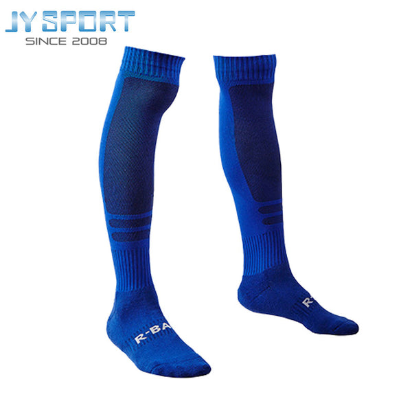 Cheap-socks-wholesale 2016 Men Sock Boots Football Knee-High Solid Absorbent Breathable Men's Compression Soccer Socks
