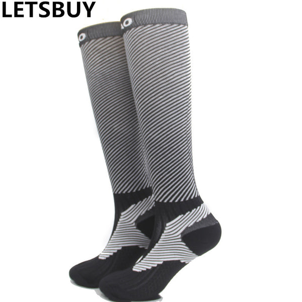 LETSBUY Fluorescence color mens sports stockings cotton towel bottom thermal quick-dry football soccer socks elastic breathable