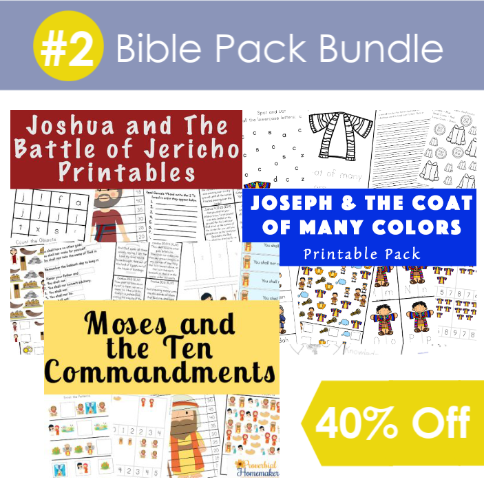 #2 Bible Pack Bundle