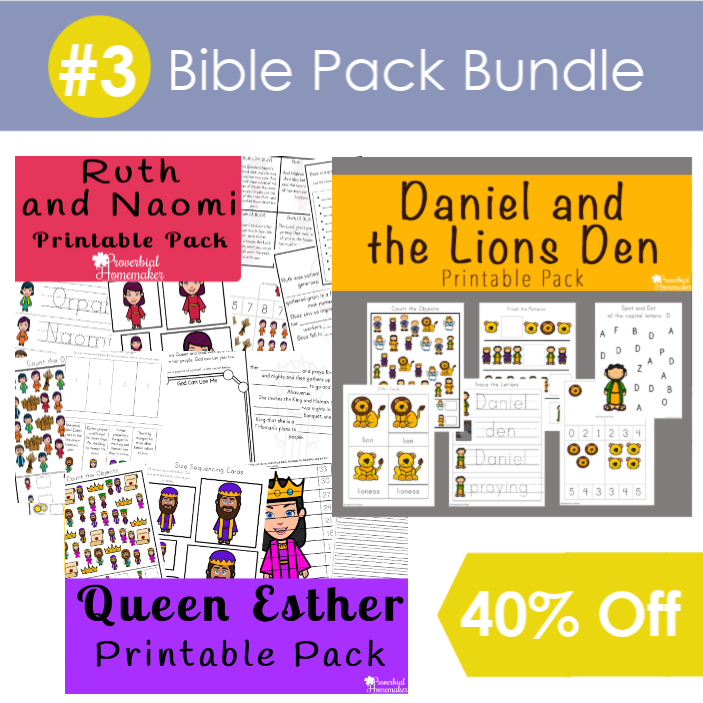 #3 Bible Pack Bundle