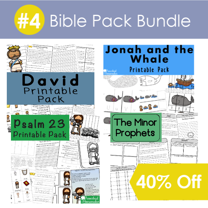 #4 Bible Pack Bundle