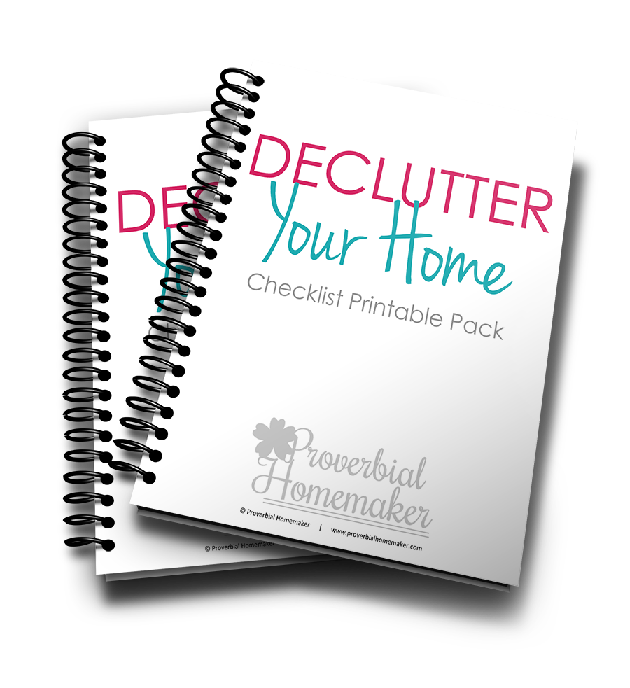 Decluttering Your Home Planner